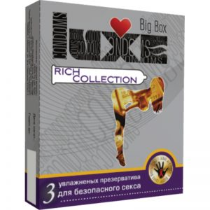 Презервативы Luxe Big Box Rich Collection №3