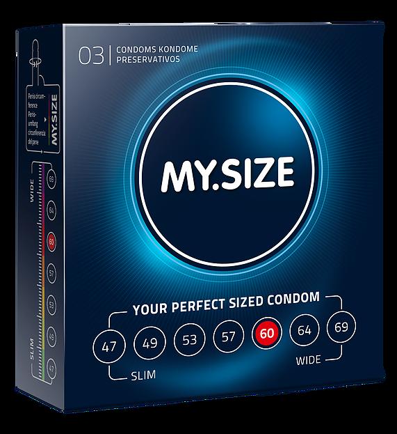 "Презервативы ""MY.SIZE"" №3 размер 60 (ширина 60mm)"